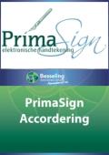 2013 Accordering PrimaSign