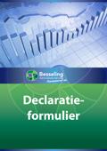 2013 declaratieformulier